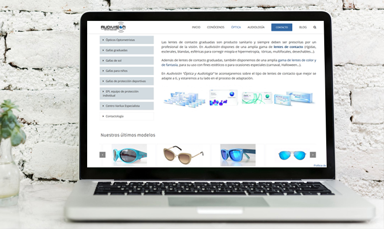 Diseño web corporativa con wordpress