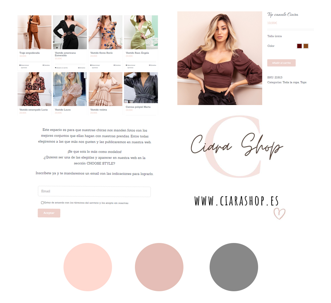 Web Ciara Shop