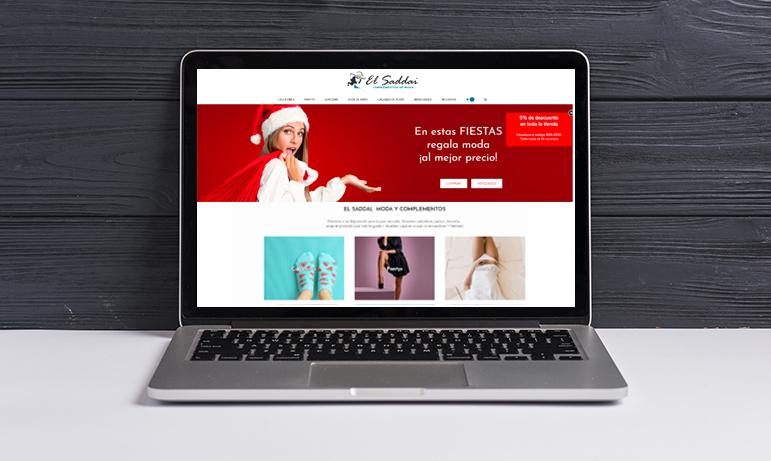 Diseño web El Saddai
