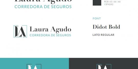 Identidad Corporativa Laura Agudo
