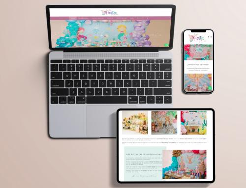 Diseño web de En tu fiesta o en la Mía