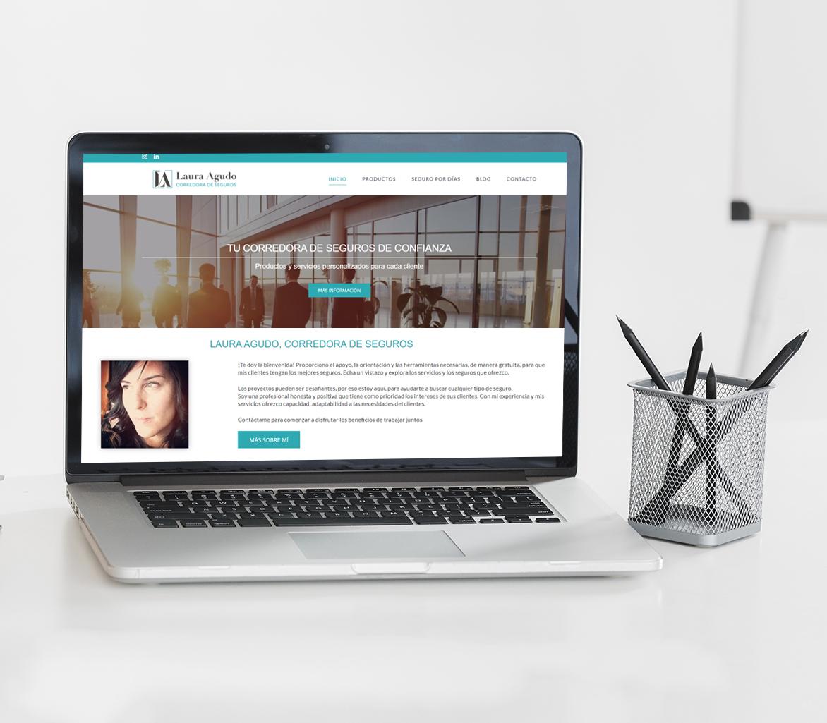 Diseño página web asesoría